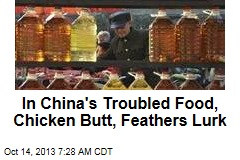 Guess What's in China's Counterfeit Cooking Oil