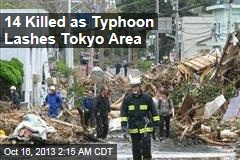 14 Killed as Typhoon Lashes Tokyo Region