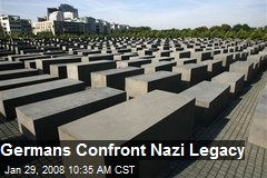 Germans Confront Nazi Legacy