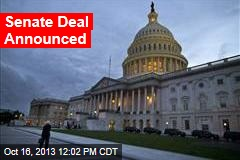 Senate Deal Is 'in Hand;' House Will Vote First