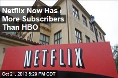 Netflix Now Has More Subscribers Than HBO