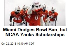 Miami Loses Scholarships In Crazy Booster Scandal