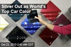 Silver Out as World's Top Car Color