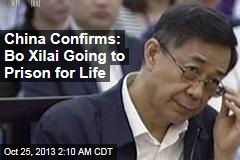 Chinese Court Rejects Bo Xilai Appeal