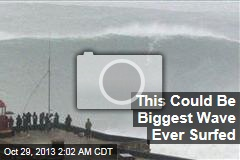 This Could Be the Biggest Wave Ever Surfed