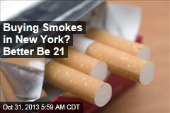 Buying Smokes in New York? Better Be 21
