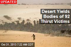Bodies of 87 Thirst Victims Found in Desert