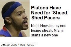 Pistons Have Need for 'Sheed, Shed Pacers