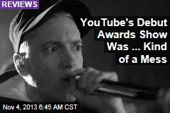 YouTube's Debut Awards Show Was ... Kind of a Mess