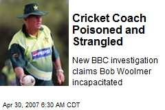 Cricket Coach Poisoned and Strangled