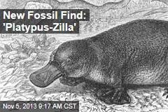 New Fossil Find: 'Platypus-Zilla'