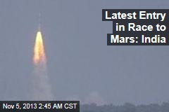 India Launches Mars Mission