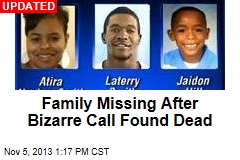 Miss. Family Missing After Bizarre Call, Fiery Crash