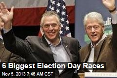 6 Biggest Election Day Races