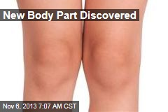 New Body Part Discovered