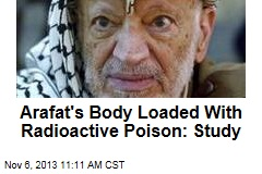 Arafat's Body Loaded With Radioactive Poison: Study