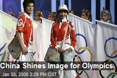 China Shines Image for Olympics