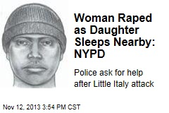 Woman Raped as Daughter Sleeps Nearby: NYPD