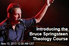 Introducing the Bruce Springsteen Theology Course