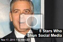 5 Stars Who Shun Social Media