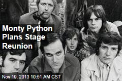 Monty Python Plans Stage Reunion