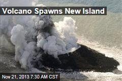 Volcano Spawns New Japanese Island