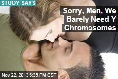 We Barely Need Y Chromosomes