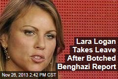 Lara Logan Takes Leave After Botched Benghazi Report