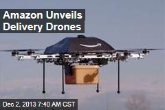 Amazon Unveils Delivery Drones