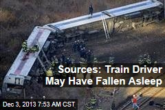 Sources: Train Driver May Have Fallen Asleep