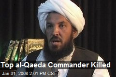 Top al-Qaeda Commander Killed