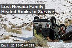 Lost Nevada Family Heated Rocks to Survive