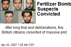 Fertilizer Bomb Suspects Convicted