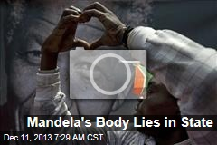 Mandela's Body Lies in State