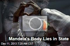 Mandela's Body Lies in State
