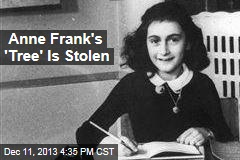 Sapling From Anne Frank's Tree Is Stolen