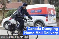 Canada Ditching Home Mail Delivery