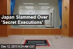Japan Slammed Over 'Secret Executions'