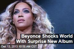 Beyonce Shocks World With Surprise New Album
