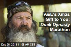 A&E's Xmas Gift to You: Duck Dynasty Marathon
