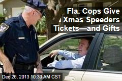 Fla. Cops Give Xmas Speeders Tickets—and Gifts