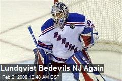 Lundqvist Bedevils NJ Again