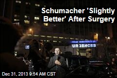 Schumacher 'Slightly Better' After Surgery