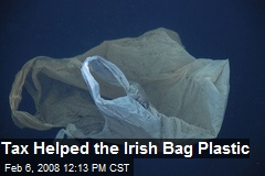Tax Helped the Irish Bag Plastic