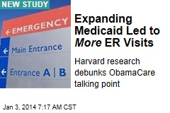 Expanding Medicaid Led to More ER Visits