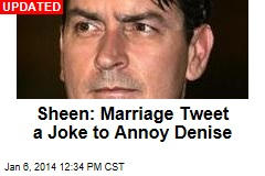 Charlie Sheen: I Got Married
