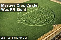 Crop Circle Was Chip Maker's PR Stunt