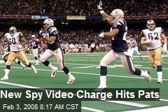 New Spy Video Charge Hits Pats