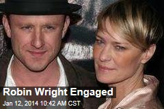 Robin Wright Engaged