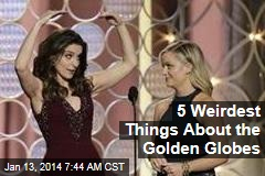 5 Weirdest Things About the Golden Globes
